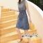 เดรสทรงแขนกุดลุคสาวเกาหลี thumbnail 6