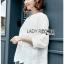 Cotton Blouse Lady Ribbon เสื้อคอตตอน thumbnail 3