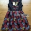 Lady Modern Hippie Floral Embroidered and Printed Dress thumbnail 7