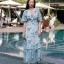 Maxi Dress กระโปรงแต่งระบาย thumbnail 2