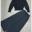 เสื้อ+กางเกงเกาหลี ผ้าลูกไม้ thumbnail 5