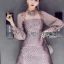 Lady Charlotte Little Mermaid Baby Pink Dress thumbnail 4