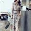 Chiffon Shirt Dress เชิ้ตเดรสผ้าชีฟอง thumbnail 1