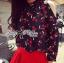 Lady Elena Mini Cherries Cut-Out Chiffon thumbnail 5