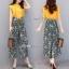 ซ็ทเสื้อกางเกงเกาหลีเสื้อสีเหลืองเนื้อผ้านุ่ม thumbnail 2