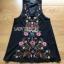 Lady Penelope Boho Black cotton Dress thumbnail 8