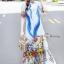 Maxi Dress อกติดกระดุมผ้า thumbnail 3