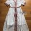 White Dress Lady Ribbon เดรสสีขาวสไตล์อินเดีย thumbnail 7