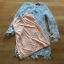 Lady Kathrine Baby Blue Lace Dress thumbnail 7