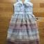 Lady Evelyn Cotton Ruffle Tulle Dress thumbnail 6