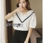 Lady Analeigh Sweet Chic Cotton Blouse thumbnail 2