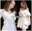Laser-Cut Ruffle Cotton Dress เดรสผ้าคอตตอนปัก thumbnail 1