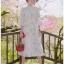 Chiffon Ruffle Maxi Dress เดรสยาว thumbnail 5