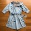 Lady Polly Striped Cotton Shirt Dress thumbnail 8