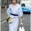 Cotton Dress Lady Ribbon เดรสผ้าคอตตอน thumbnail 1