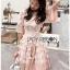 Baby Pink Mini Cocktail Dress thumbnail 4