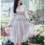 Dress เดรสผ้าชีฟองพิมพ์ลายดอกไม้ thumbnail 4