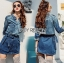Lady Sarah Street Chic Denim Shirt Dress thumbnail 2