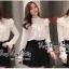 เสื้อแฟชั่นเกาหลีสไตล์เจ้าหญิง thumbnail 1