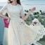 Lady Nasha Sweet Classic White Lace Dress thumbnail 2