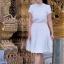 Lady Penelope Cosy Laser-Cut Cotton Dress thumbnail 2