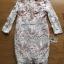 Lady Gabriella Elegant Chic Mixed Lace Dress thumbnail 4