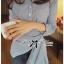 Lady Andrea Minimal Avant-Guard Detailed Shirt thumbnail 1