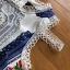 Lady Madison Modern Lace and Crepe Dress thumbnail 5