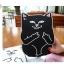 เคสซิลิโคน แมวดำ แมวขาว (เคส iPad mini 4) thumbnail 8