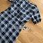 Dress เดรสพิมพ์ลายตารางสก็อตสีดำ thumbnail 8