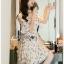 Chiffon Dress เดรสผ้าชีฟองพิมพ์ลายดอกไม้ thumbnail 2