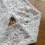 Lady Becca Smart White Lace Blouse thumbnail 5