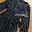 Black Mini Dress Lady Ribbon มินิเดรสผ้าเครปสีดำ thumbnail 6