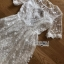 Lady Meredith Delicate Little Flower White Lace Dress thumbnail 6