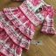 Lady Rita Italian Printed Ruffle Maxi Dress thumbnail 6