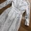 White Cotton Dress เดรสผ้าคอตตอนสีขาว thumbnail 8