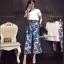 เซ็ทเสื้อ+กางเกงเกาหลีสีขาว thumbnail 1