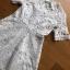 Chic White Lady Ribbon Shirt Dress thumbnail 5