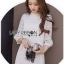 Lady Diamond Sweet Style High-Neck White Lace Dress thumbnail 1