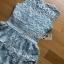 Ruffle Grey Lady Ribbon Lace Dress thumbnail 7