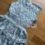 Grey Lace Dress Lady Ribbon ขายเดรส thumbnail 6
