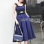 Rosie Sexy Chic Cut-Out Electric Blue Dress thumbnail 2