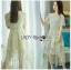 Lace Dress Lady Ribbon ขายเดรส thumbnail 1