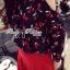 Lady Elena Mini Cherries Cut-Out Chiffon thumbnail 4