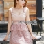 Pink Lace Lady Ribbon Dress thumbnail 1