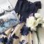 เดรสลุคสาว Fashionista เดรสทรงเปิดไหล่ thumbnail 7