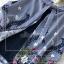 ผ้าคอตตอนทอลายริ้วสีกรม thumbnail 11