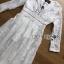 White Cotton Dress เดรสผ้าคอตตอนสีขาว thumbnail 7