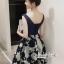 เดรสลุคสาว Fashionista เป็นเดรสทรงแขนกุดคอวี thumbnail 4