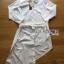 Lady Joanna Chic Shirt Dress in White thumbnail 5